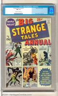Silver Age (1956-1969):Superhero, Strange Tales Annual #1 (Marvel, 1962). Top-grade copy of thistitle's first annual that is also believed to be Marvel's fir...