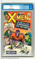 Silver Age (1956-1969):Superhero, X-Men #4 (Marvel, 1964). This classic issue boasts a ton ofimportant elements, including the second appearance of Magneto, ...