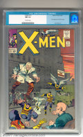 """Silver Age (1956-1969):Superhero, X-Men #11 (Marvel, 1965). Key issue introduces the Stranger withartwork by Jack """"King"""" Kirby. Killer book with full colors ..."""