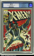 Silver Age (1956-1969):Superhero, X-Men #56 Winnipeg pedigree (Marvel, 1969). The Winnipeg copy of this pivotal X-book is marred only by a date stamp in the t...