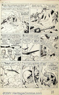 Original Comic Art:Panel Pages, Jack Kirby - Original Art for Amazing Adventures #6, page 9 (Marvel, 1961). An excellent page from the glory years of Jack K...