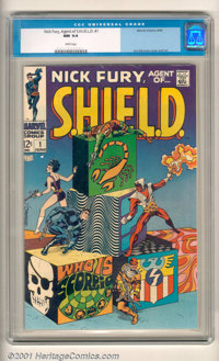Marvel Silver Age Group (Marvel, 1966-69). Here is a collection of outstanding Silver Age Marvel books, all in gorgeous...