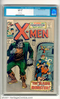 Silver Age (1956-1969):Superhero, X-Men #40 (Marvel, 1968). The mutant team goes up against the legendary Frankenstein Monster in this fun-filled issue with t...