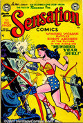Golden Age (1938-1955):Superhero, Sensation Comics Group (DC, 1950-51). A solid group of scarce later issues of this title includes: #95, #99, #100, #103, #10... (Total: 6 Comic Books Item)