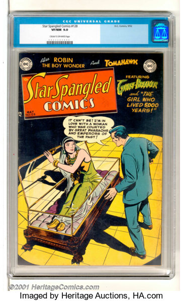 Star Spangled Comics 128 Dc 1952 Very Scarce Late Issue Lot