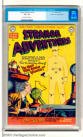 "Golden Age (1938-1955):Horror, Strange Adventures #5 Mile High pedigree (DC, 1951). Scarce earlyissue of this classic title featuring ""Amazing Science-Fic..."