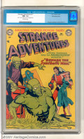"""Golden Age (1938-1955):Superhero, Strange Adventures #17 White Mountain (DC, 1952). Vintage """"Amazing Science-Fiction Tales"""" starring Captain Comet with art by..."""