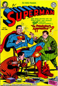 Golden Age (1938-1955):Superhero, Superman Golden Age Group (DC, 1951-54). Lot of 12 Golden Age issues of Superman, in lower grades. Includes: #69 VG, Prankst... (Total: 12 Comic Books Item)