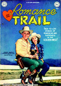 Golden Age (1938-1955):Romance, Western Romance Group (DC, 1949/ Kirby Publ., 1949). Two keywestern first issues: Romance Trail #1 FN with a Jimmy Wake...(Total: 2 Comic Books Item)