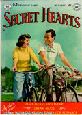 Golden Age (1938-1955):Romance, Secret Hearts Group (DC, 1949-57). 13 scarce issues from thispopular romance title include issues #1 FN-; #2 VG; #4 FN; #5 ...(Total: 13 Comic Books Item)