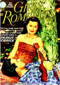 Golden Age (1938-1955):Romance, Girls' Romances Group (DC, 1950-55). Scarce group of DC Romance comics includes issues #2 VG/FN; #4 VG; #5 VG/FN; #6 VG; #7 ... (Total: 10 Comic Books Item)