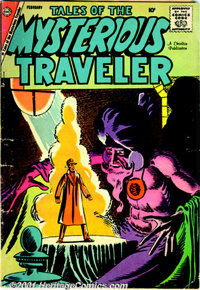 Tales of the Mysterious Traveler Group (Charlton, 1957-59). Three books from this title include issues #5 FN-; #6 VG/FN;...