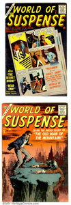 Silver Age (1956-1969):Horror, World of Suspense Group Circle 8 pedigree (Atlas, 1957). Two high-grade early copies from this classic mystery title: #6 and... (Total: 2 Comic Books Item)