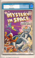 Silver Age (1956-1969):Science Fiction, Mystery in Space Group (DC, 1958-59). Here's a terrific three issuelot of Mystery In Space. Included are: #49 (Gil Kane... (Total: 3Comic Books Item)
