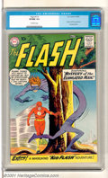 Silver Age (1956-1969):Superhero, The Flash #112 (DC, 1960). Key Silver Age book features the origin and first appearance of Ralph Dibney, the Elongated Man. ...