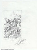 Original Comic Art:Sketches, Alex Ross - Original Pencil Prelim for Avengers #4 Cover Recreation (1999). Very cool tight pencil prelim by the legendary A...