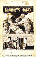 "Original Comic Art:Complete Story, Joe Orlando and Russ Jones - Original Art for ""The Mummy's Hand"" -Complete 7-Page story (1964). Originally published in M..."