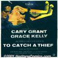 """To Catch a Thief (Paramount, 1955) Six-Sheet (81"""" X 81""""). One of Hitchcock's classic suspense capers about a r..."""