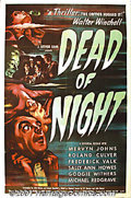 "Movie Posters:Horror, Dead of Night (Universal, 1946) One-Sheet (27"" X 41""). This British chiller is considered by many to be unsurpassed in causi..."