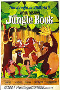 "Movie Posters:Animated, The Jungle Book (Buena Vista, 1967) One-Sheet (27"" X 41""). Rudyard Kipling's classic story is given the Disney touch in this..."