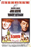 "Movie Posters:Western, El Dorado (Paramount, 1967) One-Sheet (27"" X 41""). John Wayne teamsup again with the great Howard Hawks, who directed him i..."
