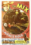 "Movie Posters:Western, The Miracle Rider (Mascot, 1935) One-Sheet (27"" X 41""). Consideredby many to be one of the greatest western film stars, Tom..."