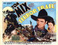 "Movie Posters:Western, The Terror Trail (Universal, 1933) Title Lobby card (11"" X 14"").The Tom Mix /Universal titles have always been eagerly soug..."