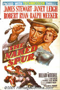 "Movie Posters:Western, The Naked Spur (MGM, 1953) One-Sheet (27"" X 41""). Considered bymany to be one of the best westerns ever made, this film pro..."