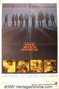 """Movie Posters:Western, The Wild Bunch (Warner Brothers, 1969) One-Sheet (27"""" X 41""""). Atrue American classic, Sam Peckinpah's film, starring Willia..."""