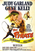 "Movie Posters:Adventure, The Pirate (MGM, 1948) One-Sheet (27"" X 41""). Gene Kellyco-choreographed the dance numbers for this imaginative fantasy.Ke..."