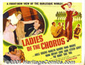 "Movie Posters:Comedy, Ladies of the Chorus (Columbia, 1948) Display Half Sheet (22"" X 28"") Style B. Marilyn Monroe is featured twice on this post..."