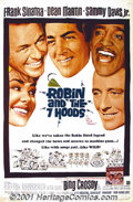 "Movie Posters:Adventure, Robin and the Seven Hoods (Warner Brothers, 1964) One-Sheet (27"" X41""). This was the Rat Pack's final fling set in 1928 Chi..."