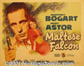 """Movie Posters:Crime, The Maltese Falcon (Warner Brothers, 1941) Display/Half Sheet (22"""" X 28"""") Style A. John Huston made his directorial debut wi..."""