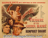 """The Treasure of the Sierra Madre (Warner Brothers, 1948) Display/Half Sheet (22"""" X 28"""") Style A. This legendar..."""