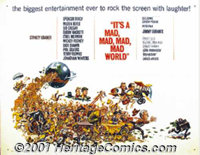 "It's a Mad, Mad, Mad, Mad World (United Artists, 1963) Display/Half Sheet (22"" X 28""). Stanley Kramer's fast..."