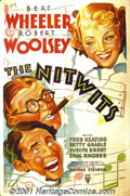 "Movie Posters:Comedy, The Nitwits (RKO, 1935) One-Sheet (27"" X 41""). Though largelyforgotten today, Wheeler and Woolsey were an extremely popula..."