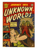 Golden Age (1938-1955):Horror, Journey Into Unknown Worlds #14 (Atlas, 1952) Condition: VG/FN....