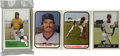 Baseball Cards:Sets, 1980s Minor League Baseball Team Sets Collection of 4. Four minor league team sets including 1981 TCMA Pawtucket Red Sox (Bo...