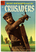 Golden Age (1938-1955):Adventure, Four Color #588 King Richard and the Crusaders - Circle 8 pedigree (Dell, 1954) Condition: VF+....