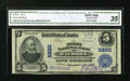National Bank Notes:Kentucky, Wilmore, KY - $5 1902 Plain Back Fr. 601 The First NB Ch. # 9880....