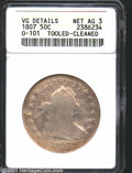 Early Half Dollars: , 1807 50C DRAPE BUST