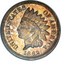 Proof Indian Cents, 1862 1C PR66 NGC. CAC....