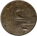 Colonials, 1786 COPPER New Jersey Copper, Narrow Shield MS61 Brown NGC....