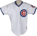 Autographs:Jerseys, Mark Grace Signed Jersey. A fan favorite who shared the baseball diamond with fellow Chicago Cubs greats such as Andre Daws...