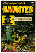 Golden Age (1938-1955):Horror, This Magazine Is Haunted #1 (Fawcett, 1951) Condition: FN-....