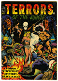 Golden Age (1938-1955):Horror, Terrors of the Jungle 17 (#1) (Star, 1952) Condition: VG....