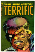 Golden Age (1938-1955):Horror, Terrific Comics #14 (Ajax/Farrell, 1954) Condition: FN....