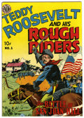 Golden Age (1938-1955):Non-Fiction, Teddy Roosevelt & His Rough Riders #1 (Avon, 1950) Condition:FN....