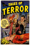 Golden Age (1938-1955):Horror, Tales of Terror #1 (Toby Publishing, 1952) Condition: VG/FN....