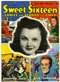 Golden Age (1938-1955):Romance, Sweet Sixteen #1 Library of Congress File Copy (Parents' Magazine Institute, 1946) Condition: VF-....